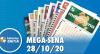 Resultado da Mega-Sena - Concurso nº 2313 - 28/10/2020