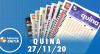 Resultado da Quina - Concurso nº 5427 - 27/11/2020