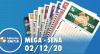 Resultado da Mega-Sena - Concurso nº 2323 - 02/12/2020
