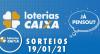 Loterias CAIXA: Quina, Lotofácil, Lotomania e mais 19/01/2020