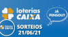 Loterias CAIXA: Lotofácil 21/06/2021