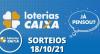 Loterias CAIXA: Super Sete, Quina, Lotofácil e mais 18/10/2021
