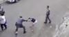 PM agride homem e mulher ao separar briga no meio de rua em SP