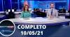 Assista à íntegra do RedeTV News de 10 de maio de 2021