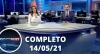 Assista à íntegra do RedeTV News de 14 de maio de 2021