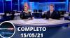 Assista à íntegra do RedeTV News de 15 de maio de 2021