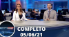 Assista à íntegra do RedeTV News de 5 de junho de 2021