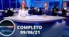 Assista à íntegra do RedeTV News de 09 de junho de 2021