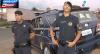 Criminoso em carro roubado acelera para fugir de cerco policial