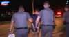Traficante é flagrado com drogas e chora ao ser preso