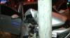 """Ladrões batem carro em tentativa de fuga: """"Tava dando só uma volta"""""""