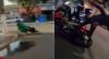 Fuga acaba no chão! Rapazes tentam despistar polícia mas acabam caindo