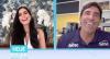 Dani Albuquerque conversa com Giovane Gávio nesta quinta-feira (24)