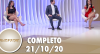 SuperPop: busca por beleza (21/10/20) | Completo