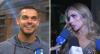 """Caique Aguiar rebate críticas de Nadja Pessoa: """"Não acho que sou covarde"""""""