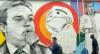"""Artista faz grafite em homenagem a Gugu Liberato: """"Vai ficar eternizado"""""""