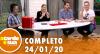 A Tarde é Sua (24/01/20) | Completo