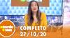 A Tarde é Sua (27/10/20) | Completo