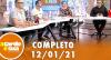 A Tarde é Sua (12/01/21) | Completo
