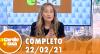 A Tarde é Sua (22/02/21) | Completo