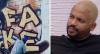 """Artista se arrepende de grafite feito em mural para Projota: """"Fake"""""""