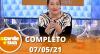 A Tarde é Sua (07/05/21) | Completo
