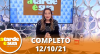 A Tarde é Sua (12/10/21) | Completo