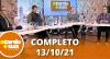 A Tarde é Sua (13/10/21) | Completo