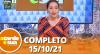 A Tarde é Sua (15/10/21) | Completo