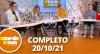 A Tarde é Sua (20/10/21) | Completo