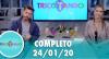 Tricotando (24/01/2020) | Completo