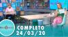 Tricotando (24/03/2020) | Completo