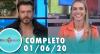 Tricotando (01/06/2020) | Completo