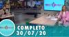 Tricotando (30/07/2020) | Completo