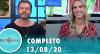 Tricotando (13/08/2020) | Completo
