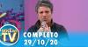 Você na TV (29/10/20) | Completo
