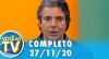 Você na TV (27/11/20) | Completo
