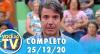 Você na TV (25/12/20) | Completo