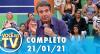 Você na TV (21/01/21) | Completo