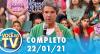 Você na TV (22/01/21) | Completo