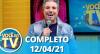 Você na TV (12/04/21) | Completo