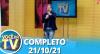 Você na TV (21/10/21) | Completo