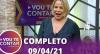 Vou Te Contar (09/04/2021) | Completo