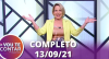 Vou Te Contar (13/09/2021) | Completo