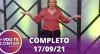Vou Te Contar (17/09/2021) | Completo