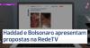 Primeiro confronto entre Bolsonaro e Haddad na TV repercute na imprensa