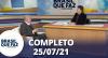 Brasil Que Faz (25/07/21) | Completo