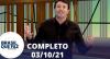 Brasil Que Faz (03/10/21) | Completo