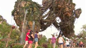 Amaury Jr. visita atracão do momento na Disney: Pandora, o mundo de Avatar