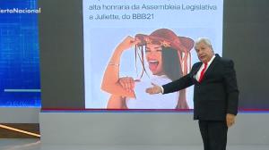 Sikêra Jr. critica deputados que homenagearam a BBB Juliette Freire